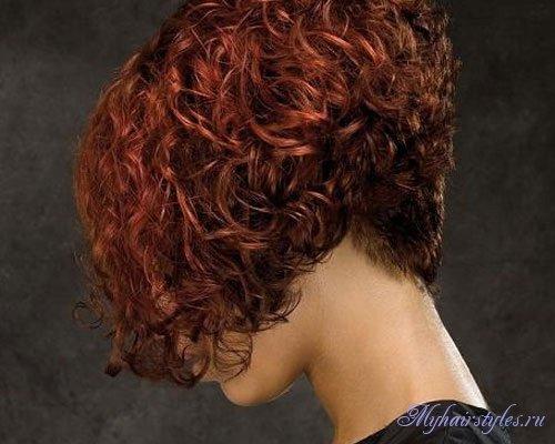Фото причёсок с вьющихся волос