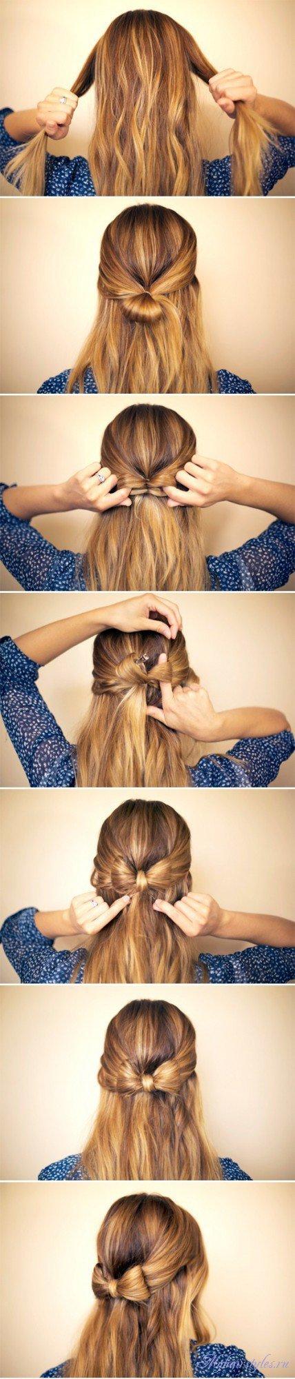 Как делать волосы красивые