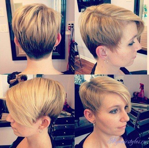 Причёски на короткими волосами для девушек