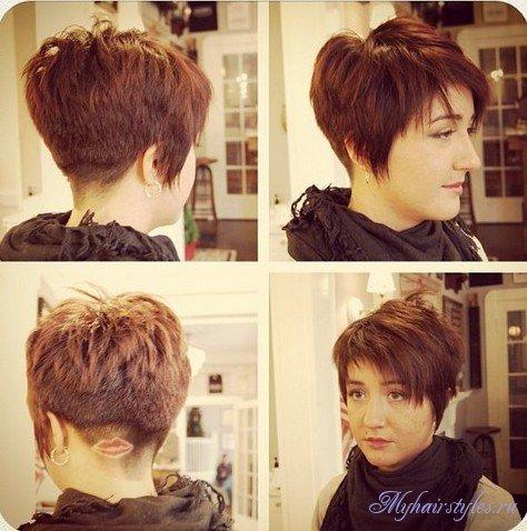 Стрижки на короткие и очень редкие волосы