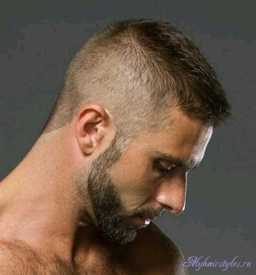 Стрижка бобрик для мужчин