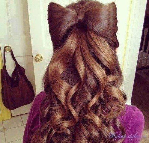 Красивые прически с длинными волосами для девушек